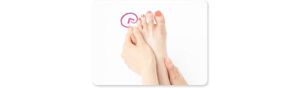 ガサガサかかと&足の甲のケア方法