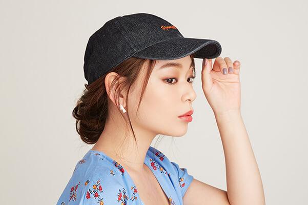【帽子タイプ別ヘアアレンジ】キャップ×シニヨン