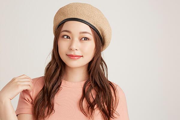 【帽子タイプ別ヘアアレンジ】サマーベレー×ダウンスタイル