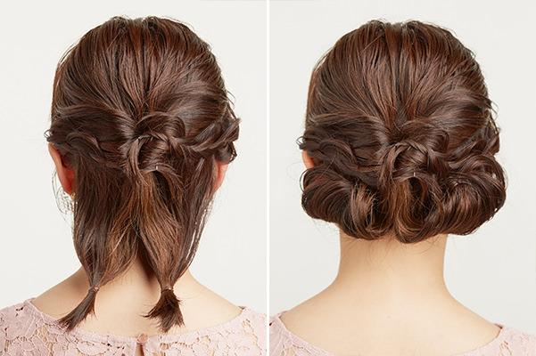 結婚式のお呼ばれ髪型保存版 周りと差がつく簡単セルフアレンジ術